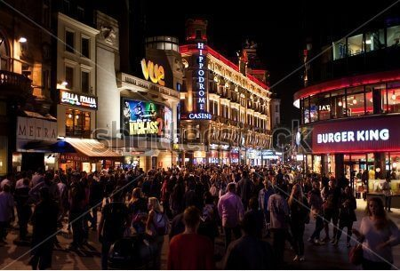 stock-photo-london-uk-aug-people-enjoy-the-nightlife-in-leicester-sq-in-london-on-august-150323795