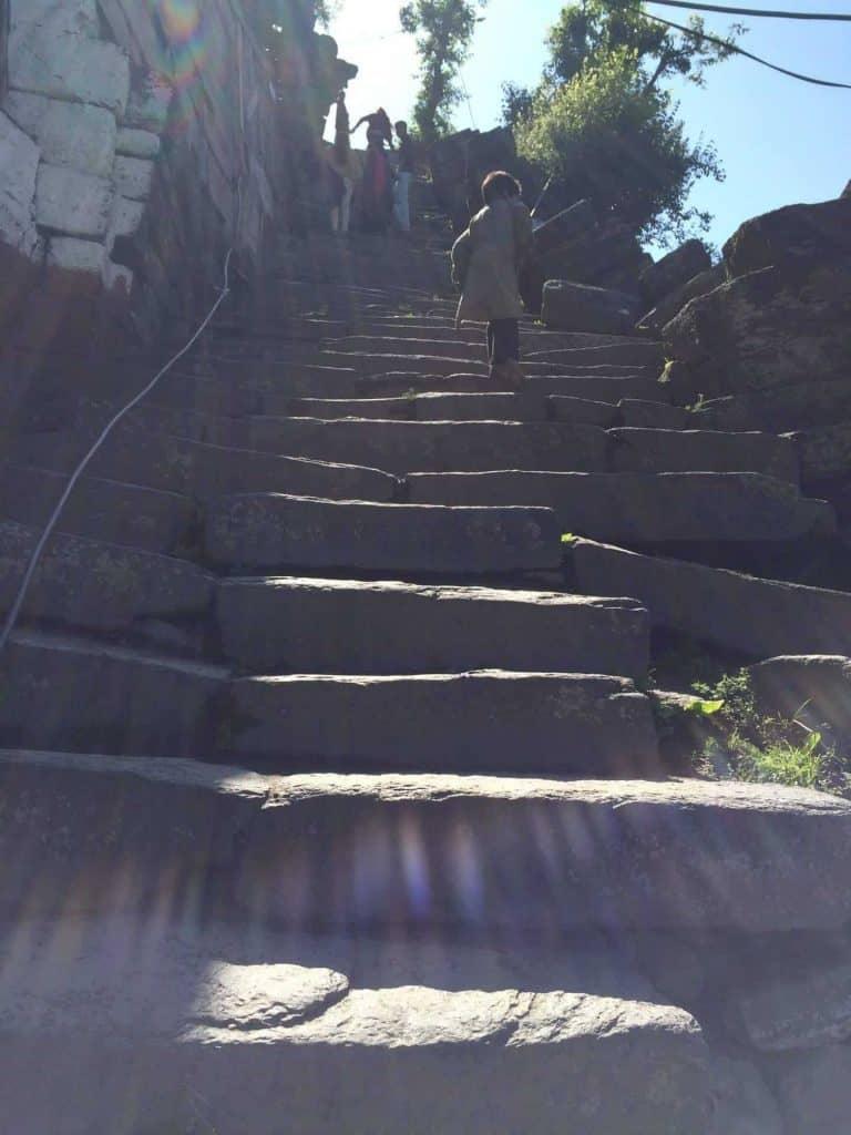 Steps in Sharda